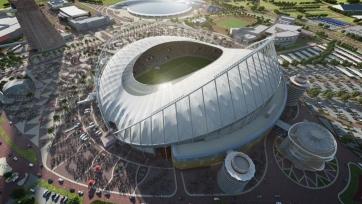 В Катаре прошла церемония открытия первого стадиона для ЧМ-2022