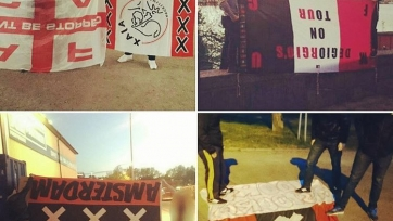 Фанаты шведского АИКа нападают на болельщиков «Аякса» и «МЮ»