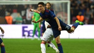 Андер Эррера назван лучшим игроком финала Лига Европы