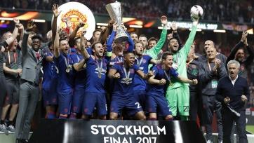Футболисты «МЮ» получат 38 миллионов фунтов за победу в Лиге Европы
