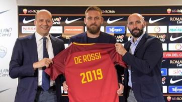Де Росси продлил договор с «Ромой»