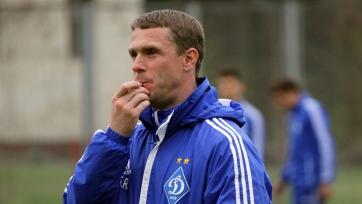 Ребров покинул пост тренера киевского «Динамо»