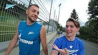 Видеоблог «Зенит-ТВ»: Лодыгин и медведь, тайный агент, тренировка под дождем и Артем Суворов.