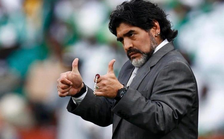 Марадона – главный тренер Сборной России. Это бред?