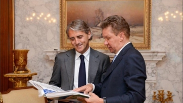 Роберто Манчини дал комментарий после подписания контракта с «Зенитом»