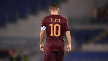 Тотти получит специальную награду от президента УЕФА