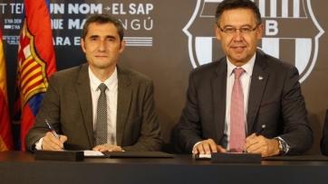 Бартомеу: «Думаю, Вальверде является идеальным тренером для «Барселоны»