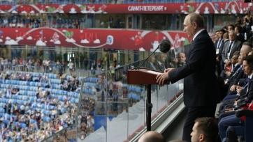 Путин: «Кубок конфедераций покажет миру открытую Россию»