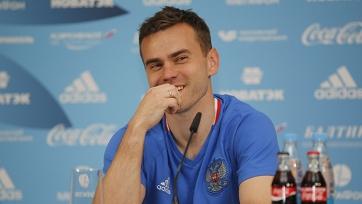 Акинфеев не пропустил на крупном турнире впервые с 2008 года