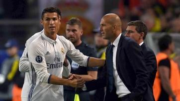 Роналду заявил Зидану, что хочет уйти из «Реала»