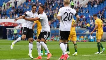 Германия обыграла команду Австралии, пропустив два мяча