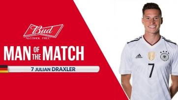 Назван лучший игрок матча Австралия – Германия