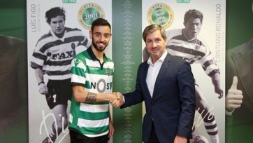 Официально: Бруно Фернандеш – футболист «Спортинга»