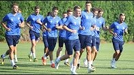 Тренировка «Динамо» перед матчем с «Янг Бойз»