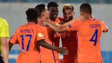Немцы пропустили четыре мяча от Нидерландов на юношеском чемпионате Европы