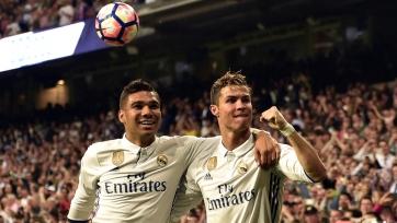 Каземиро – о возможном уходе Роналду: «Я не хочу играть против лучшего»