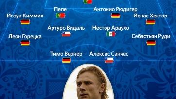 Валерий Карпин составил свою символическую сборную Кубка конфедераций