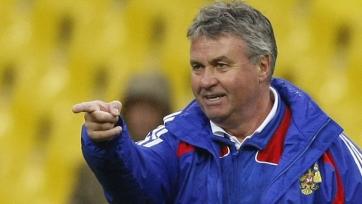 Гус Хиддинк считает, что российскому футболу не хватает интенсивности