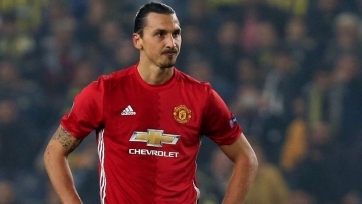Ибрагимович находится на базе «Манчестер Юнайтед»