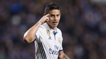 Зидан сообщил руководству «Реала», что не рассчитывает на Хамеса Родригеса