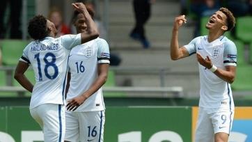 Молодежная сборная Англии оказалась сильнее голландцев