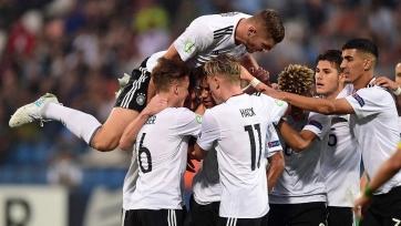 Германия легко победила Болгарию на юниорском чемпионате Европы