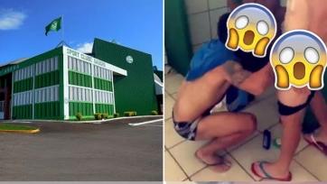 Футболистов отчислили из бразильского клуба за совместную мастурбацию