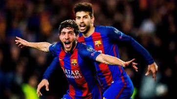 «Барселона» отказалась продавать Серхи Роберто Гвардиоле