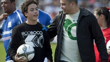 Сына Роналдо вызвали в сборную Бразилии