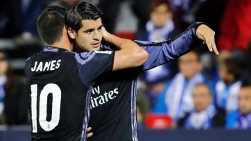 Источник: «Реал» предложил «Челси» приобрести Морату и Хамеса за 132 миллиона фунтов