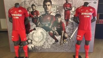 Московский «Спартак» представил форму на предстоящий сезон