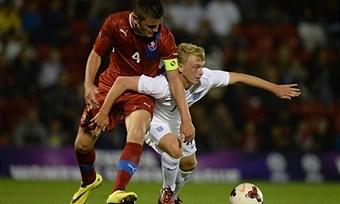 Чехия победила Грузию и вышла в полуфинал юниорского Евро