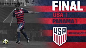 Сборная США не смогла победить Панаму на Золотом кубке КОНКАКАФ