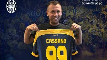 Кассано возобновил профессиональную карьеру