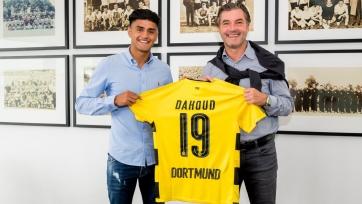Официально: дортмундская «Боруссия» подписала Дауда