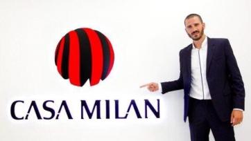 Официально: Леонардо Бонуччи перешел в «Милан»
