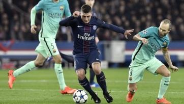 «Барселона» предложила за Верратти 65 миллионов евро и своего хавбека