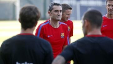 Вальверде доволен нынешним подбором игроков в «Барсе»