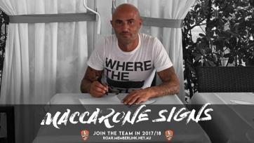 Официально: Маккароне стал частью австралийского клуба