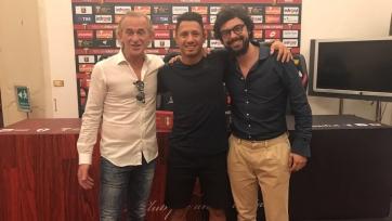 Официально: «Дженоа» арендовал нападающего «Милана»