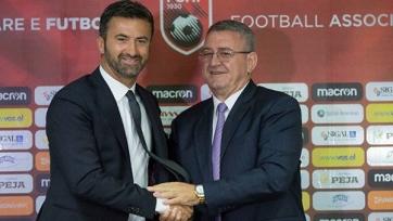 Пануччи возглавил албанскую сборную