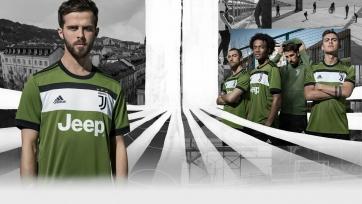 «Ювентус» презентовал третий комплект формы на предстоящий сезон