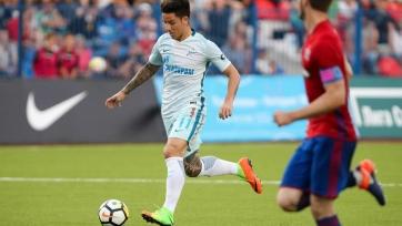 Дриусси открыл счёт голам за «Зенит»