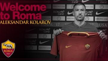 Официально: «Рома» приобрела Коларова