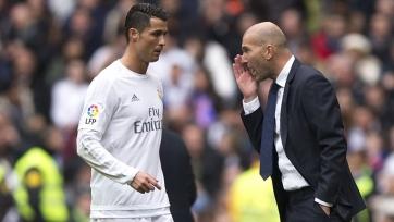 Зидан сообщил, сколько ещё Роналду будет играть за «Реал»