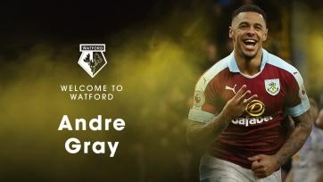 Официально: Андре Грэй – футболист «Уотфорда»