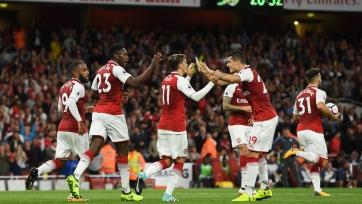 «Арсенал» справил голевой юбилей в игре с «Лестером»