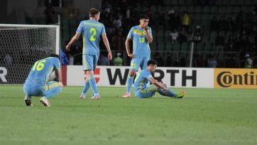 Казахстан крупно проиграл Черногории