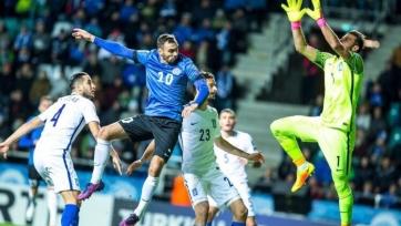 Эстония вырвала победу в матче с Кипром, сборная Фарерских островов переиграла Андорру