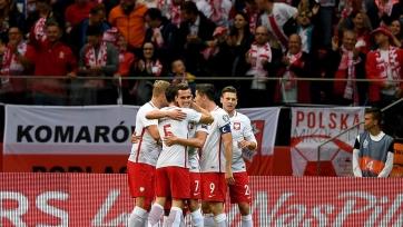 Польша разгромила Казахстан, Черногория дожала Румынию, победа сборной Северной Ирландии